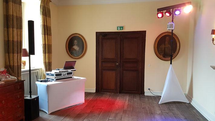 Hochzeits-DJ auf Schloss Auel in Lohmar