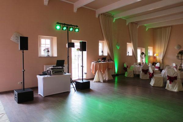 DJ Hochzeit Burg Bubenheim - Nörvenich