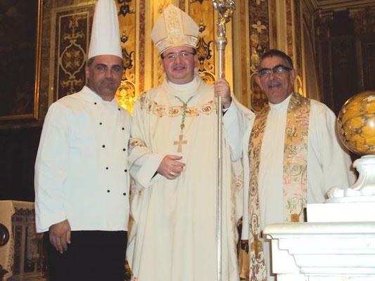 Annerkennung beim Papst im Vatican