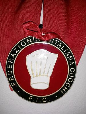 Mitglied  der Federazione italiana cuochi