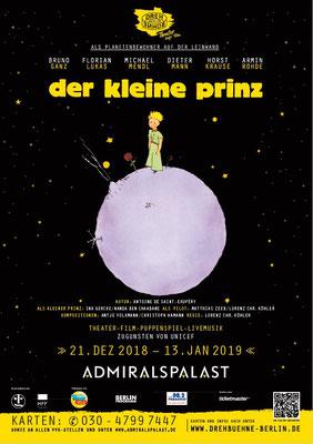 2018-2019 Der kleine Prinz, Drehbühne Berlin, Admiralspalast Berlin