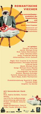 2020 Romantische Viecher, Theaterturbine Leipzig, Moritzbastei