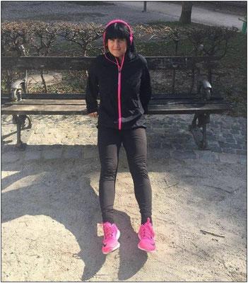 Für Daniela spielt das richtige Outfit beim Laufen eine wichtige Rolle.