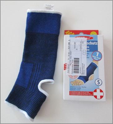 """Gelenkschutz """"Fuß"""" zum Preis von 4,95 Euro."""