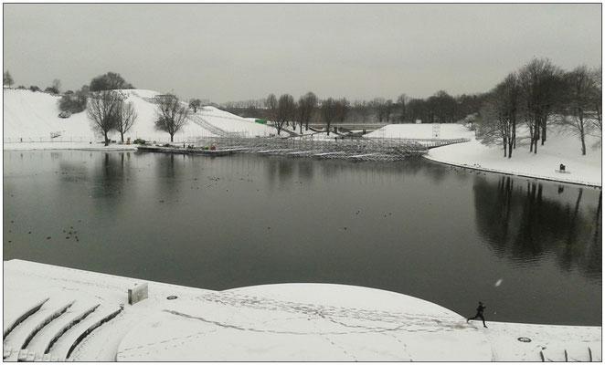 Winterlicher Olympiapark