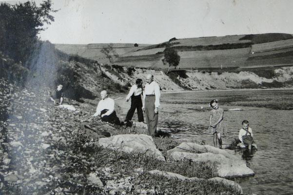 Nad Sanem, 1945