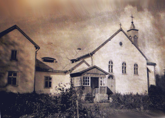 Klasztor Sióstr Zgromadzenia św. Wincentego a Paulo w Rajskiem , 1945