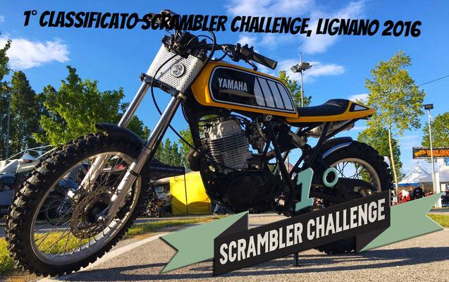 SCRAMBLER CHALLENGE LIGNANO 2016