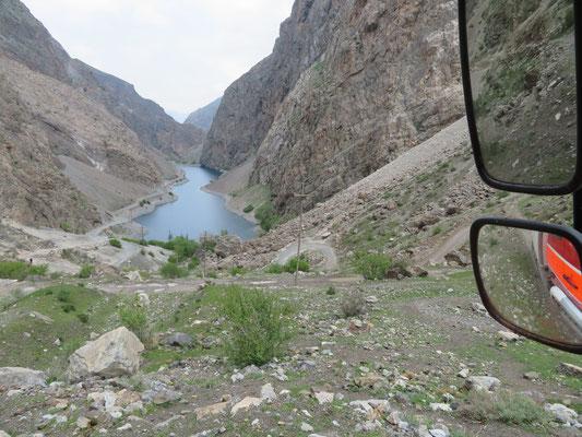 Der erste der sieben Seen des Hafta Kul