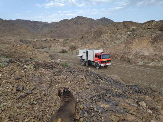 In einem namenlosen Wadi
