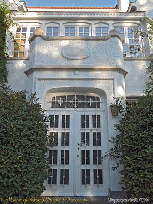 Manoir Grand-Ducal,où à lieu dans l'aile gauche le conseil des Ministres