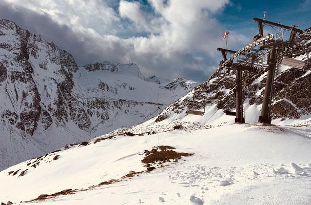 November 2017: Der erste Schnee muss gewürdigt werden