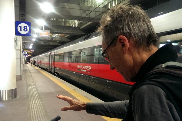 Train Rosso, Mailand - Bologna, 300 km/h