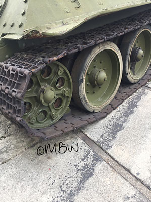 T34 Kampfpanzer Laufwerk