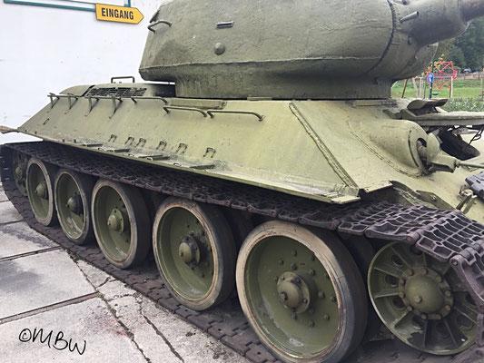 T34 Kampfpanzer Radkasten