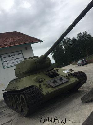 Sonntagberg Militärmuseum - T34 Kampfpanzer