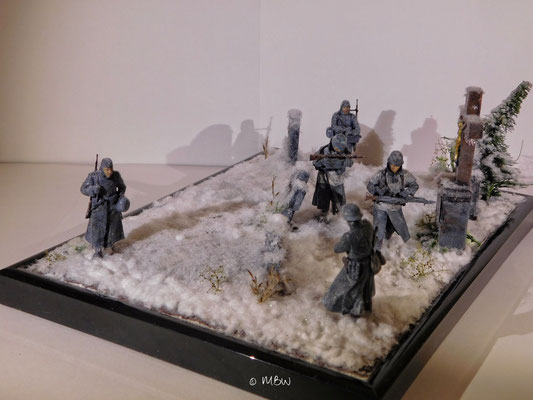 Master Box Cold Wind - Diorama 1:35