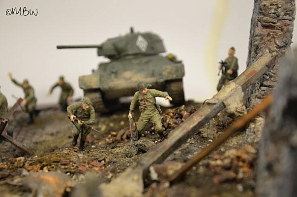 Schlacht um Stalingrad - Diorama 1:35