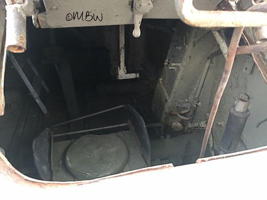 T34 Kampfpanzer Innenraum