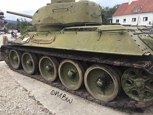 T34 Kampfpanzer - Seite