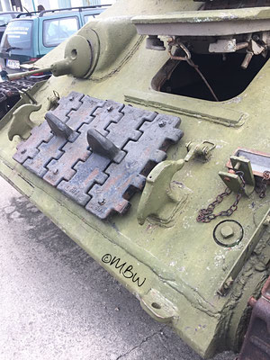 T34 Kampfpanzer Vorne