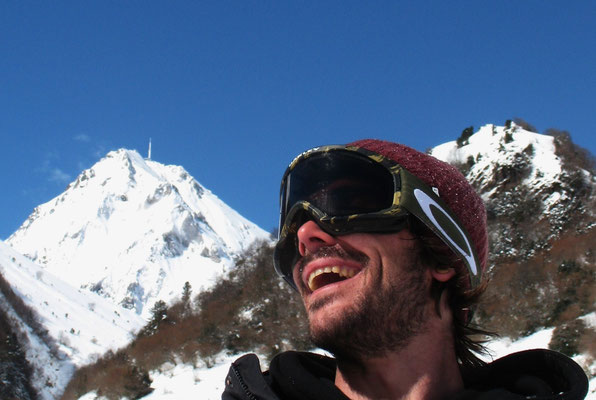 Krapahut descente hors piste du Pic du Midi