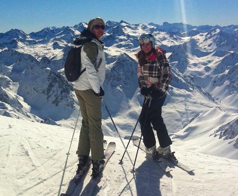 cours de ski et de snowboard avec un moniteur particulier au Grand Tourmalet