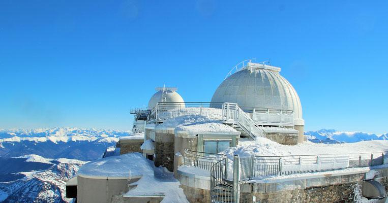 Observatoire du Pic du Midi de Bigorre en ski ou snowboard
