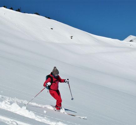 Initiation ski de randonnée sur le domaine skiable du Grand Tourmalet avec Krapahut