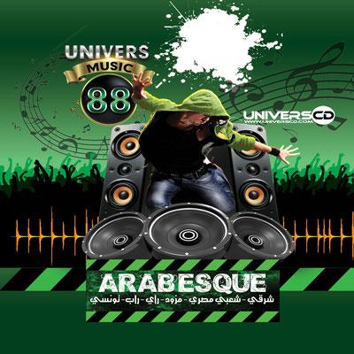 ARABESQUE UNIVERS MUSIC VOL88