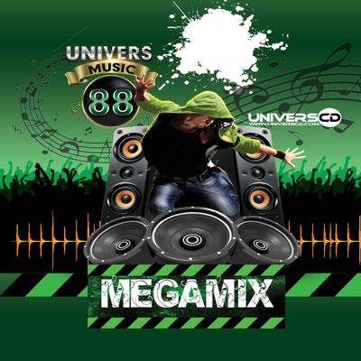 MEGAMIX UNIVERS MUSIC VOL88