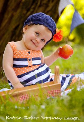 bunter Sommer, Spaß, frische, Apfel, Maritiem