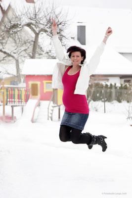 Schwangerschaft, Foto, Babybauch, Shooting, Kreisssaal, Entbindung, Fotostudio, Lange, Suhl, Thüringen, Bayern