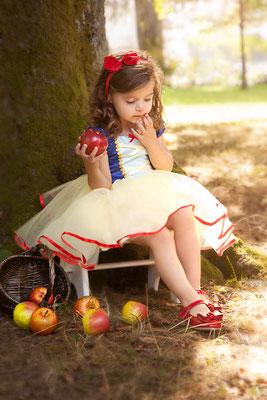 Schneewittchen, Apfel, Märchenfoto, Märchenwelt