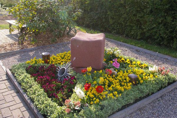 Alter Friedhof, Würfelgrab