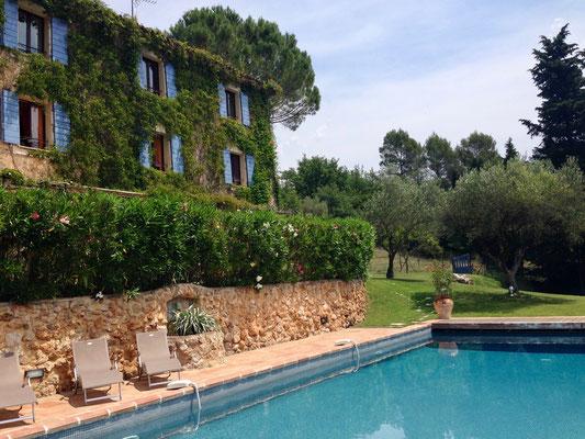 Unsere Unterkunft in der Provence