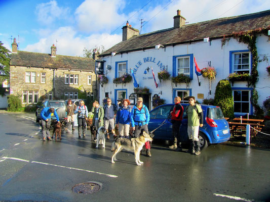 Unser Pub in Yorkshire (GB) 2012