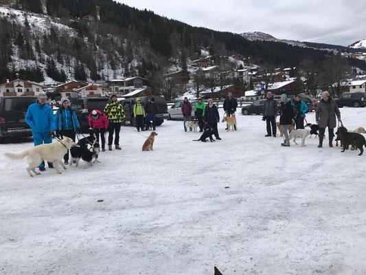 Winterwanderung in Saalbach Dezember 2016