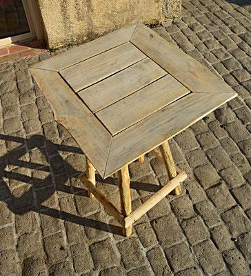 Fabrication de mobilier extérieur ou intérieur en bois de ...
