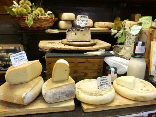 Lokale Käsespezialitäten aus Triora