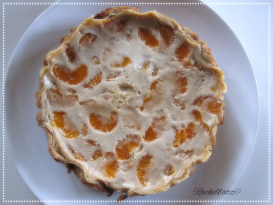 Mandarinen Schmand Kuchen Fur Eine 20 Cm Springform Rackelbatz