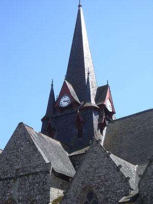 L'église de Sérent-la Claie des landes