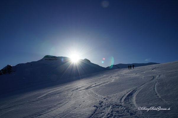 Idylle auf dem Gletscher