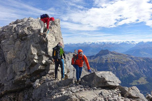 Abstieg zum Gletscher