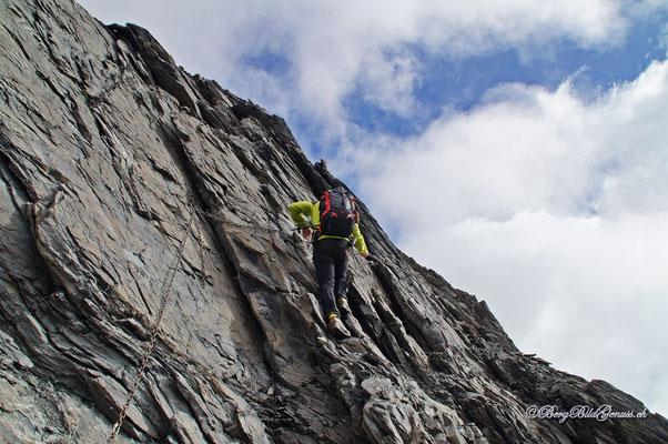 Aufstieg aus dem Drahtseilfurggeli