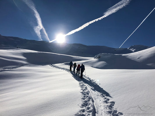 Wiederaufstieg zum Hagelstock (Photocredit Petra)