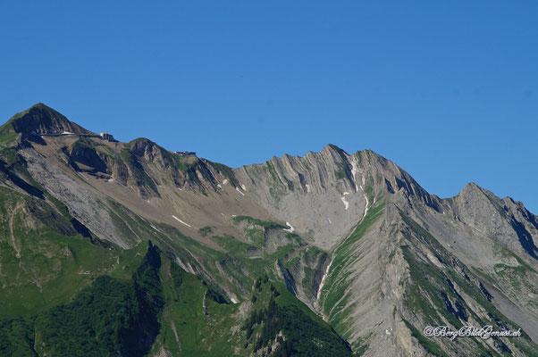 Sicht zum Brienzer Rothorn, dem höchsten Luzerner.