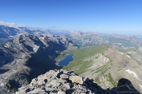Tolle Aussicht vom Gipfel