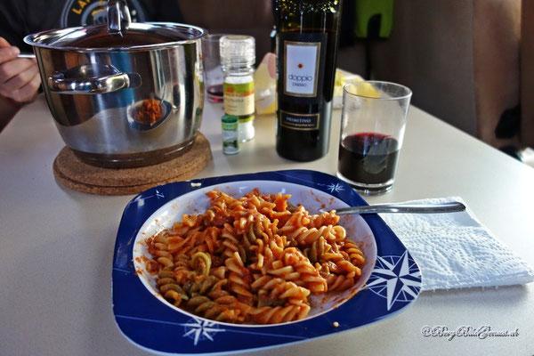 Italienischer Abend am Nordkapp