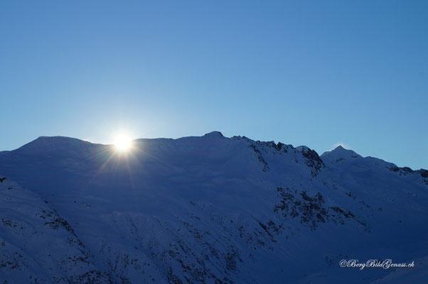 Die Sonne kommt...